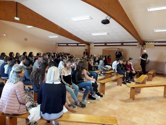 La Pastorale au collège St Viateur